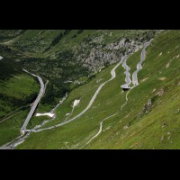 Furka Pass road, Swiss Alps :: RDSfurkapassch63335jpg
