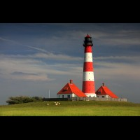 Westerheversand Lighthouse, Germany :: LTHwesterheversandde61623jpg