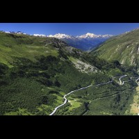 Furka Pass road, Swiss Alps :: RDSfurkapassch63267jpg