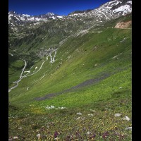 Furka Pass road, Swiss Alps :: RDSfurkapassch6329-30wjpg
