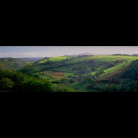 18494weFRGENgasconycountryfrjpg :: Panorama of the Gascony area, France