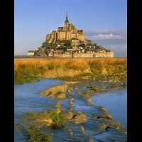 Le Mont St. Michel, Normandy, France :: 18598eFRMSMmontstmichelfrjpg